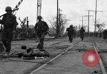 Image of General Mudge and troops of U.S. 1st Cavalry Division Manila Philippines, 1945, second 8 stock footage video 65675071953