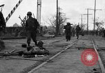 Image of General Mudge and troops of U.S. 1st Cavalry Division Manila Philippines, 1945, second 9 stock footage video 65675071953