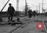 Image of General Mudge and troops of U.S. 1st Cavalry Division Manila Philippines, 1945, second 10 stock footage video 65675071953