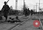 Image of General Mudge and troops of U.S. 1st Cavalry Division Manila Philippines, 1945, second 11 stock footage video 65675071953