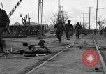 Image of General Mudge and troops of U.S. 1st Cavalry Division Manila Philippines, 1945, second 12 stock footage video 65675071953