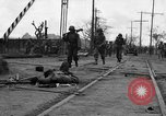 Image of General Mudge and troops of U.S. 1st Cavalry Division Manila Philippines, 1945, second 14 stock footage video 65675071953