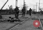 Image of General Mudge and troops of U.S. 1st Cavalry Division Manila Philippines, 1945, second 15 stock footage video 65675071953
