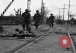 Image of General Mudge and troops of U.S. 1st Cavalry Division Manila Philippines, 1945, second 16 stock footage video 65675071953
