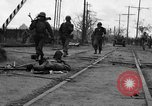 Image of General Mudge and troops of U.S. 1st Cavalry Division Manila Philippines, 1945, second 17 stock footage video 65675071953