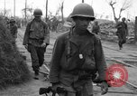 Image of General Mudge and troops of U.S. 1st Cavalry Division Manila Philippines, 1945, second 20 stock footage video 65675071953
