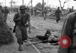 Image of General Mudge and troops of U.S. 1st Cavalry Division Manila Philippines, 1945, second 25 stock footage video 65675071953