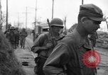 Image of General Mudge and troops of U.S. 1st Cavalry Division Manila Philippines, 1945, second 37 stock footage video 65675071953