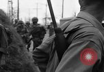 Image of General Mudge and troops of U.S. 1st Cavalry Division Manila Philippines, 1945, second 45 stock footage video 65675071953