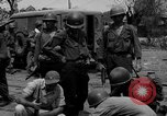 Image of General Mudge and troops of U.S. 1st Cavalry Division Manila Philippines, 1945, second 47 stock footage video 65675071953