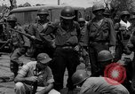 Image of General Mudge and troops of U.S. 1st Cavalry Division Manila Philippines, 1945, second 51 stock footage video 65675071953