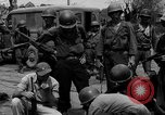 Image of General Mudge and troops of U.S. 1st Cavalry Division Manila Philippines, 1945, second 53 stock footage video 65675071953