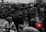 Image of General Mudge and troops of U.S. 1st Cavalry Division Manila Philippines, 1945, second 55 stock footage video 65675071953