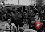 Image of General Mudge and troops of U.S. 1st Cavalry Division Manila Philippines, 1945, second 56 stock footage video 65675071953