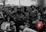 Image of General Mudge and troops of U.S. 1st Cavalry Division Manila Philippines, 1945, second 60 stock footage video 65675071953