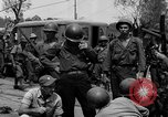 Image of General Mudge and troops of U.S. 1st Cavalry Division Manila Philippines, 1945, second 61 stock footage video 65675071953