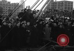 Image of American volunteers returning from Spanish Civil War New York City USA, 1938, second 6 stock footage video 65675071981