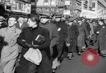 Image of American volunteers returning from Spanish Civil War New York City USA, 1938, second 22 stock footage video 65675071981