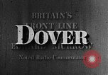Image of White Cliffs of Dover Dover Kent England United Kingdom, 1942, second 13 stock footage video 65675071986
