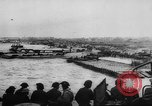 Image of Normandy beachhead filled with reinforcement troops and equipment France, 1944, second 17 stock footage video 65675072013