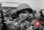 Image of Normandy beachhead filled with reinforcement troops and equipment France, 1944, second 30 stock footage video 65675072013