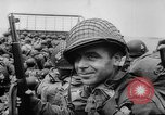 Image of Normandy beachhead filled with reinforcement troops and equipment France, 1944, second 31 stock footage video 65675072013
