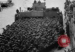 Image of Normandy beachhead filled with reinforcement troops and equipment France, 1944, second 33 stock footage video 65675072013