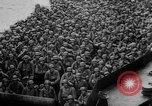 Image of Normandy beachhead filled with reinforcement troops and equipment France, 1944, second 37 stock footage video 65675072013
