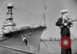 Image of Soviet cruiser Soviet Union, 1943, second 15 stock footage video 65675072023