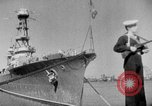 Image of Soviet cruiser Soviet Union, 1943, second 18 stock footage video 65675072023