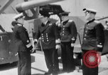 Image of Soviet cruiser Soviet Union, 1943, second 33 stock footage video 65675072023