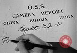 Image of Office of Strategic Services Burma, 1944, second 13 stock footage video 65675072040
