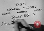 Image of Office of Strategic Services Burma, 1944, second 15 stock footage video 65675072040
