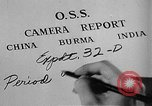 Image of Office of Strategic Services Burma, 1944, second 16 stock footage video 65675072040