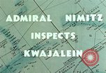 Image of Admiral Chester Nimitz Kwajalein Island Marshall Islands, 1944, second 5 stock footage video 65675072045