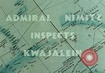 Image of Admiral Chester Nimitz Kwajalein Island Marshall Islands, 1944, second 8 stock footage video 65675072045