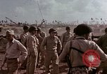 Image of Admiral Chester Nimitz Kwajalein Island Marshall Islands, 1944, second 16 stock footage video 65675072047
