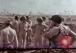 Image of Admiral Chester Nimitz Kwajalein Island Marshall Islands, 1944, second 19 stock footage video 65675072047