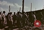Image of Admiral Chester Nimitz Kwajalein Island Marshall Islands, 1944, second 20 stock footage video 65675072047