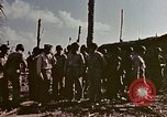 Image of Admiral Chester Nimitz Kwajalein Island Marshall Islands, 1944, second 21 stock footage video 65675072047