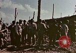 Image of Admiral Chester Nimitz Kwajalein Island Marshall Islands, 1944, second 22 stock footage video 65675072047