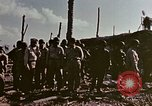 Image of Admiral Chester Nimitz Kwajalein Island Marshall Islands, 1944, second 23 stock footage video 65675072047