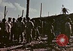 Image of Admiral Chester Nimitz Kwajalein Island Marshall Islands, 1944, second 25 stock footage video 65675072047