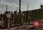 Image of Admiral Chester Nimitz Kwajalein Island Marshall Islands, 1944, second 27 stock footage video 65675072047