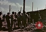 Image of Admiral Chester Nimitz Kwajalein Island Marshall Islands, 1944, second 28 stock footage video 65675072047