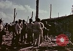 Image of Admiral Chester Nimitz Kwajalein Island Marshall Islands, 1944, second 31 stock footage video 65675072047