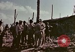 Image of Admiral Chester Nimitz Kwajalein Island Marshall Islands, 1944, second 32 stock footage video 65675072047