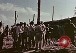 Image of Admiral Chester Nimitz Kwajalein Island Marshall Islands, 1944, second 33 stock footage video 65675072047