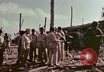 Image of Admiral Chester Nimitz Kwajalein Island Marshall Islands, 1944, second 34 stock footage video 65675072047