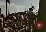 Image of Admiral Chester Nimitz Kwajalein Island Marshall Islands, 1944, second 36 stock footage video 65675072047